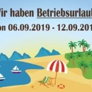 Betriebsurlaub SChmidtmayer 180x180 - Betriebsurlaub von 06.09 -12-09.2019